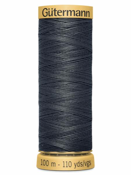 Gutermann Cotton Thread 4403 Grey