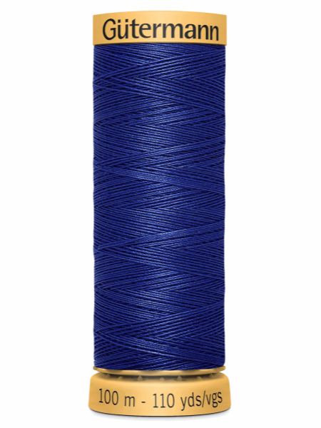 Gutermann Cotton Thread 4932 Blue