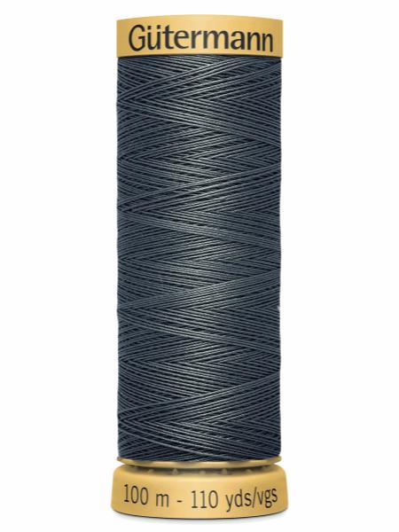 Gutermann Cotton Thread 5104 Grey