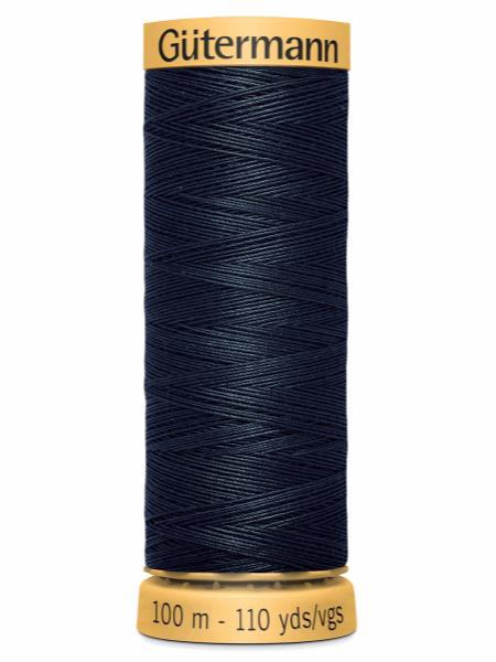 Gutermann Cotton Thread 5412 Dark Blue
