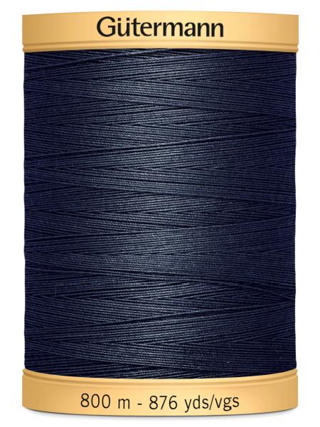 Gutermann Cotton Thread 5413 Navy