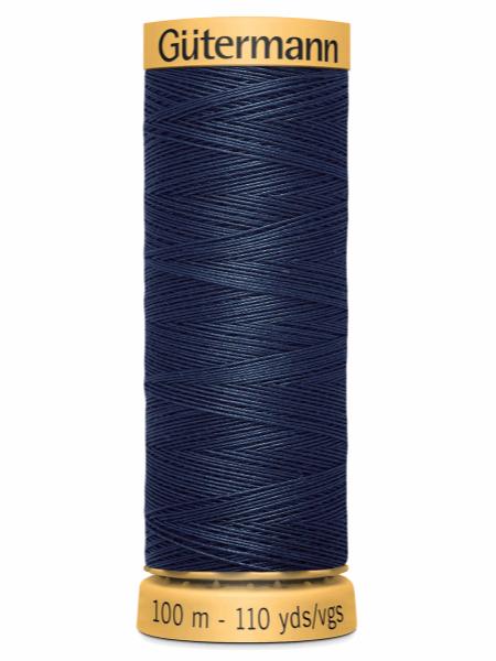 Gutermann Cotton Thread 5422 Dark Blue