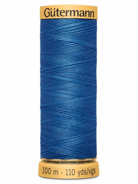 Gutermann Cotton Thread 5534 Blue