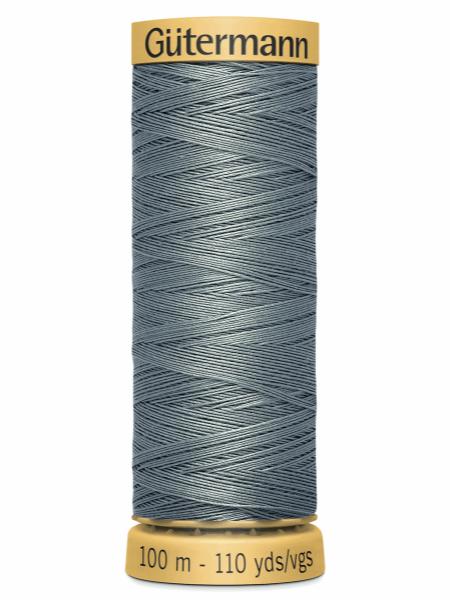 Gutermann Cotton Thread 5705 Grey