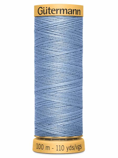 Gutermann Cotton Thread 5826 Blue