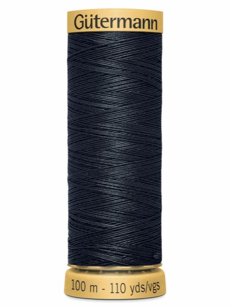 Gutermann Cotton Thread 5902 Charcoal