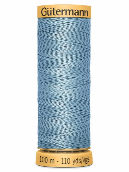 Gutermann Cotton Thread 6126 Blue