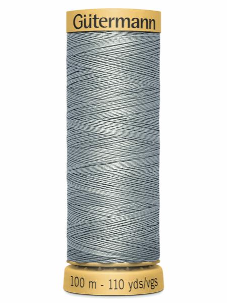 Gutermann Cotton Thread 6206 Grey