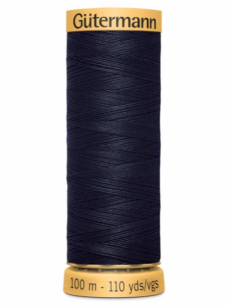 Gutermann Cotton Thread 6210 Dark Blue
