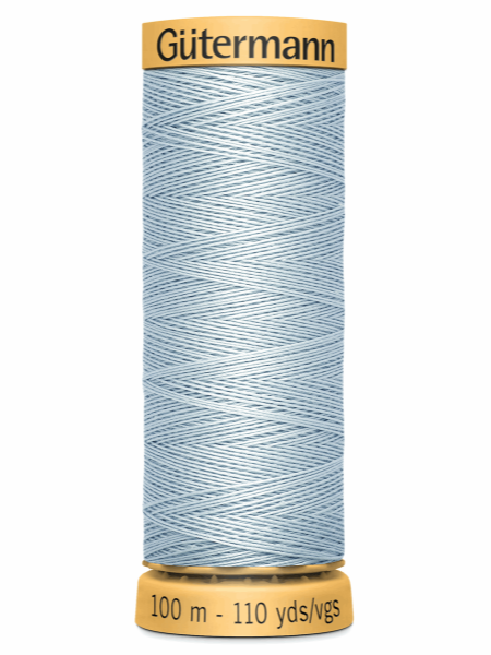 Gutermann Cotton Thread 6217 Blue