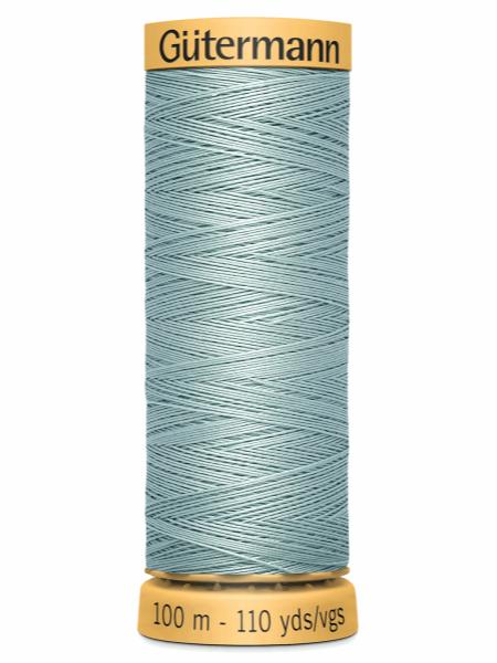 Gutermann Cotton Thread 7827 Pale Green