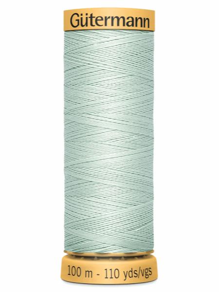Gutermann Cotton Thread 7918 Very Pale Green