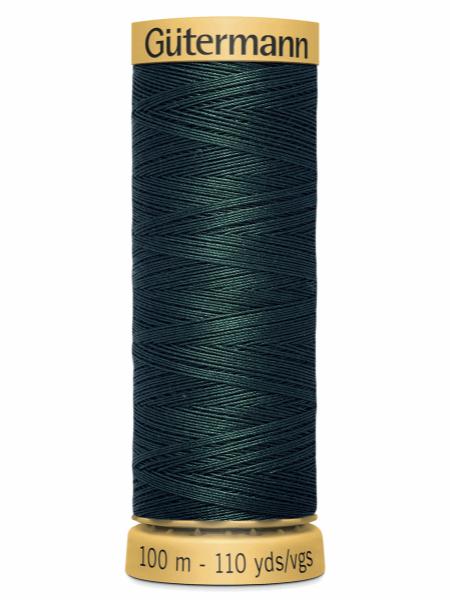 Gutermann Cotton Thread 8113 Green