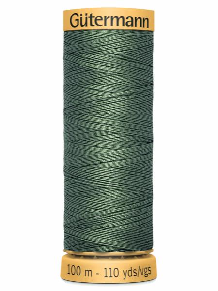 Gutermann Cotton Thread 8724 Green