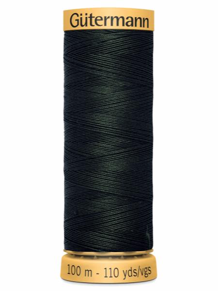 Gutermann Cotton Thread 8812 Green