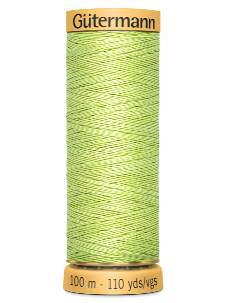 Gutermann Cotton Thread 8975 Green