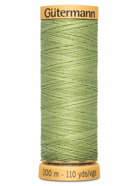 Gutermann Cotton Thread 9837 Green