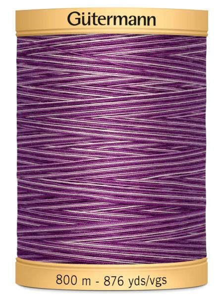 Gutermann Cotton Variegated Thread 9978 Lilac/Purple