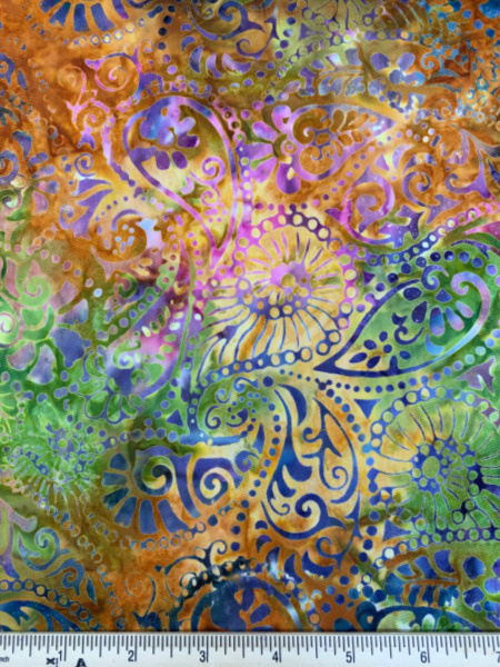 Amber Batik Quilting Fabric by Timeless Treasures