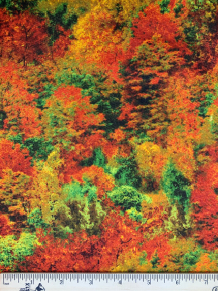 Autumnal Trees from Nature by Timeless Treasures