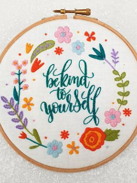 Be Kind Embroidery Pack from Oh Sew Bootiful