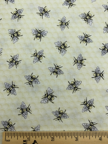Bees Quilting Fabric by Timeless Treasures