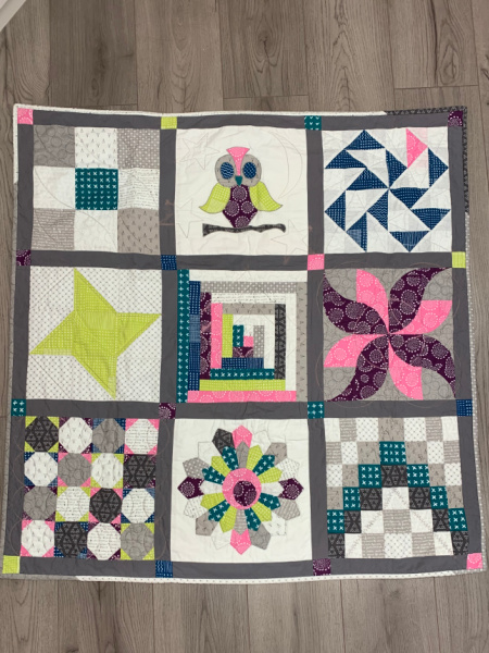 Beginners Machine Sewn Patchwork and Quilting Course