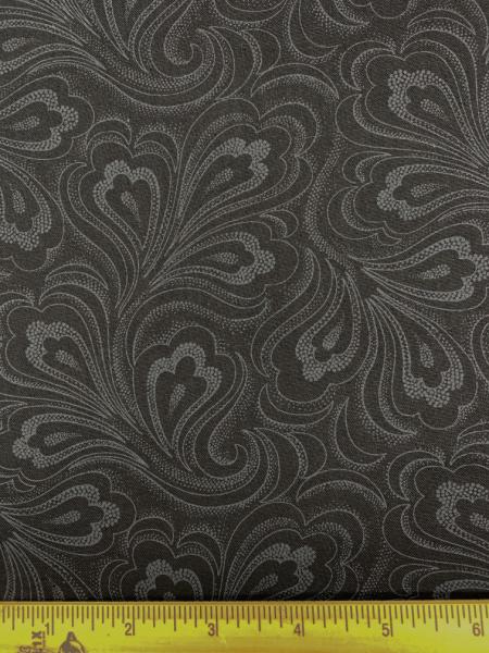 Black on Black quilting fabric