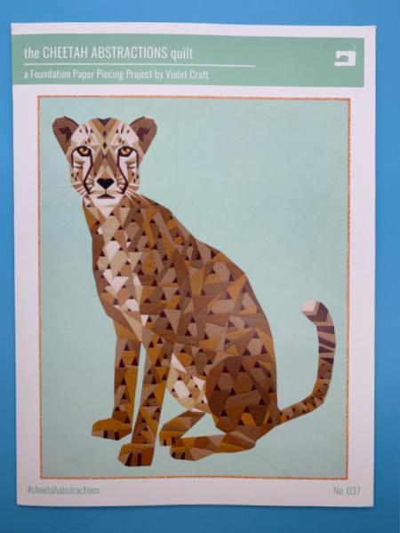 The Cheetah Abstractions Quilt Pattern By Violet Craft