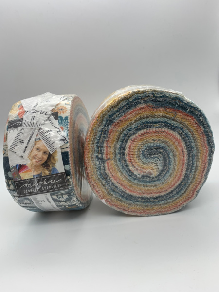 Cider by Basicgrey Quilting Fabric for Moda Jelly Roll Two and a Half Inch Fabric Strips