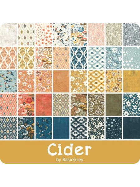 Cider Jelly roll from Moda two and a half inch fabric strips