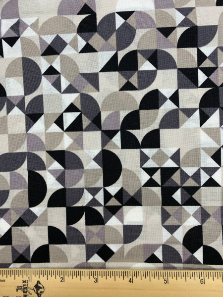 Cloak in Buff from Stealth Quilting Fabric by Libs Elliott for Andover Fabrics