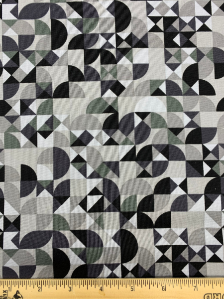 Cloak in Concrete from Stealth Quilting Fabric by Libs Elliott for Andover Fabrics