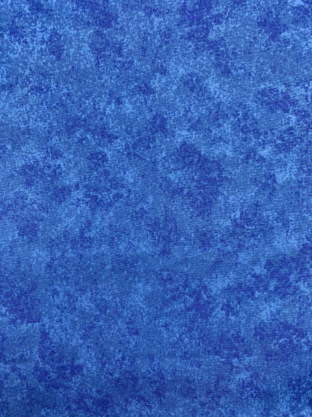 Spraytime Colbolt Blue Quilting Fabric from Makower