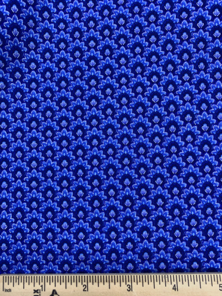 Dutchess Blue From The Dutchess Collection Quilting Fabric By Chong-A Hwang For Timeless Treasures