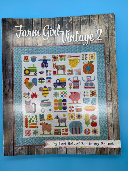 Farm Girl Vintage 2 Book from Lori Holt of Bee in my Bonnet