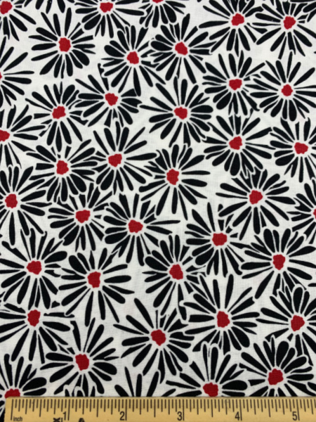 Flower Quilting Fabric by Color Pop Studio for Blank Quilting Corp