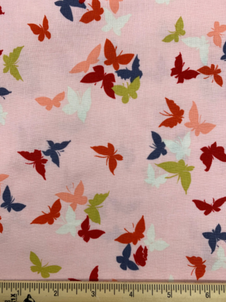 Flutter-By Clouds in Blossom from Sea Holly by Sarah Campbell for Michael Miller