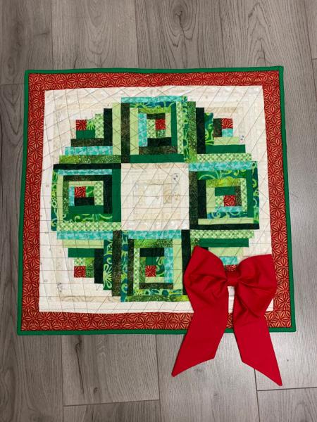 Christmas Wreath Patchwork Workshop