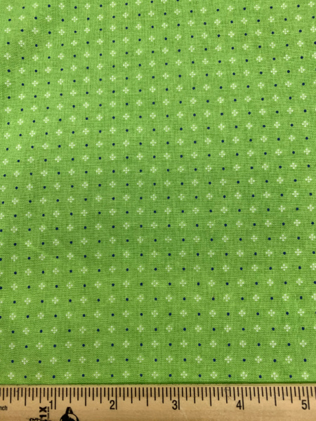 Green Calico Quilting Fabric By Lori Holt Of Bee In My Bonnet For Riley Blake