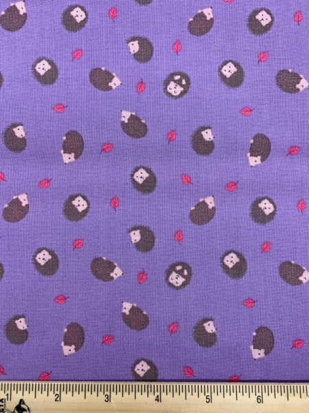 Hedgehog on Lilac from Small Things Country Creatures from Lewis and Irene