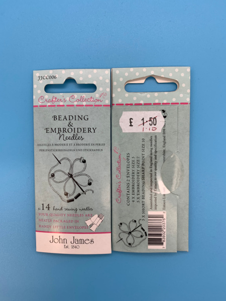 JJCC006 Beading and Embroidery Needles