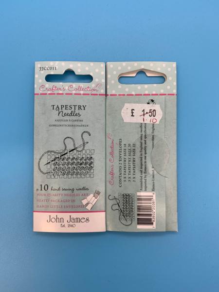 JJCC011 Tapestry Needles by John James