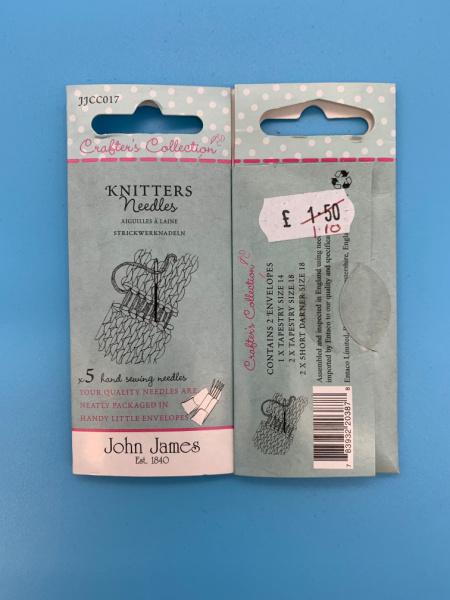 JJCC017 Knitter Needles from John James