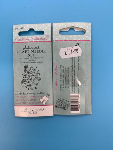 JJCC023 Advanced Craft Needle Set from John James