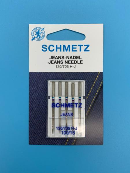 Schmetz Machine Sewing Needle Jeans 100/16