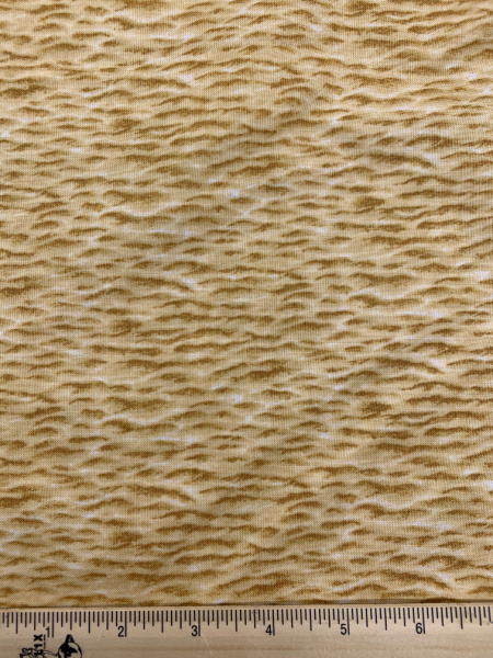 Sand Print Quilting Fabric by Makower