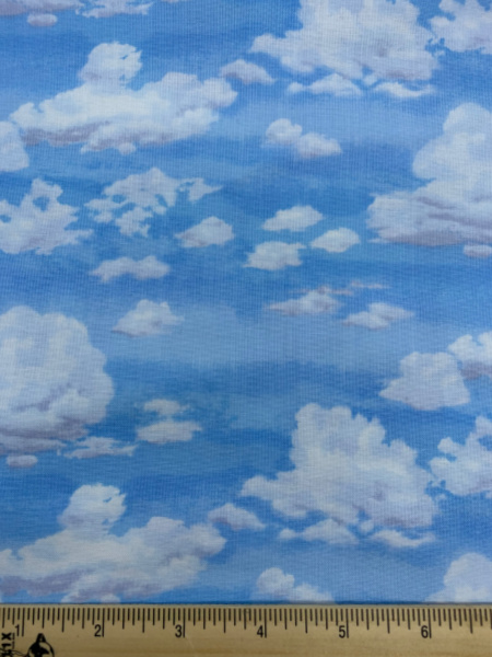 Blue Sky with Clouds from Makower