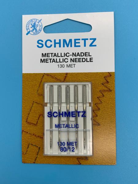 Schmetz Machine Sewing Needle Metallic 80/12