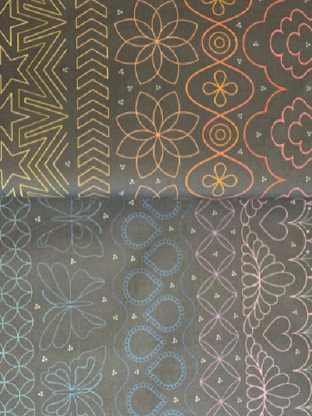 Paradigm Shift Quilting Fabric by Sarah Thomas for Hoffman